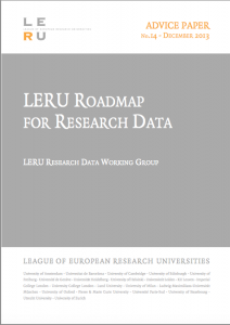 LERU Roadmap for Research Data - thumbnail