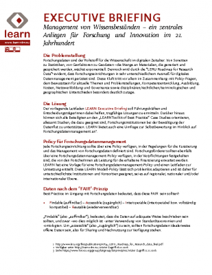 LEARN Executive Briefing – v2 – German